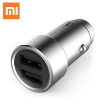 Buy Xiaomi Dual USB Car Charger 5V 3.6A Quick Charge Car-Charger Fast Car USB Charger iPhone X 8 Samsung S8 S9 Huawei HTC Tablet for $11.35 in AliExpress store