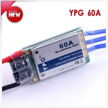 YPG 60A (2~6S) SBEC Brushless Speed Controller ESC High Quality Free Shipping(China)