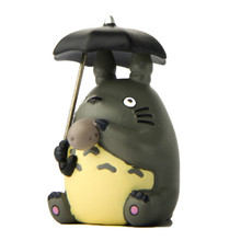 1pcs Hayao Miyazaki My Neighbor Totoro Action Figure Toys DIY Micro-landscape Collection Model Toy for Garden Ornaments(China)