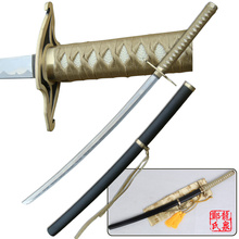 "40"" Fantasy Samurai Ulquiorra Cifer's Murcielago Replica Sword  Cosplay Katana Decorative Cosplay Props Anime Bleach"