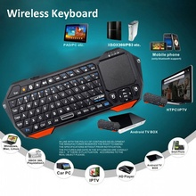 Mini Portable Wireless Keyboard Bluetooth 3.0 Keyboards with Mouse Mice Touchpad for Windows Android iOS Computer Laptop(China)