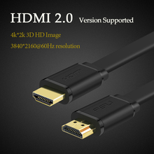 HDMI Cable Male to Male Cable 0.5m 1m 1.5m 2m 3m HDMI 2.0 Cable support 4K 3D for TV PS3 Projector Computer HDTV(China)