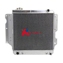 Automobile RACING 3 ROW/CORE ALUMINUM RACING RADIATOR FOR 87-06 JEEP WRANGLER YJ/TJ 2.4L- 4.2L JP Auto Cooling Replacement Parts