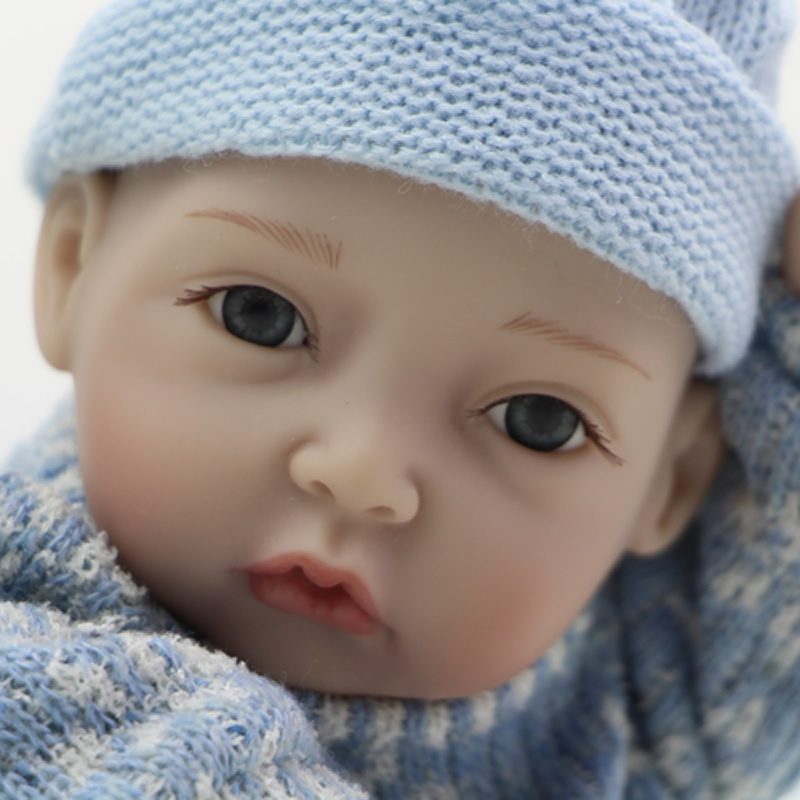 11 Inch Alive Dolls Boneca Full Silicone Vinyl Tiny Newborn Baby Boy Lifelike Reborn Dolls With Fashion Clothes Kids Playmate<br><br>Aliexpress