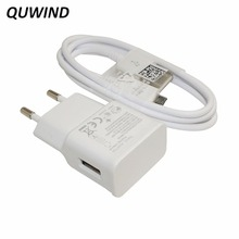 QUWIND 1 USB EU Plug 2A Wall Charger With 1M Micro Usb Cable For Android Samsung Huawei