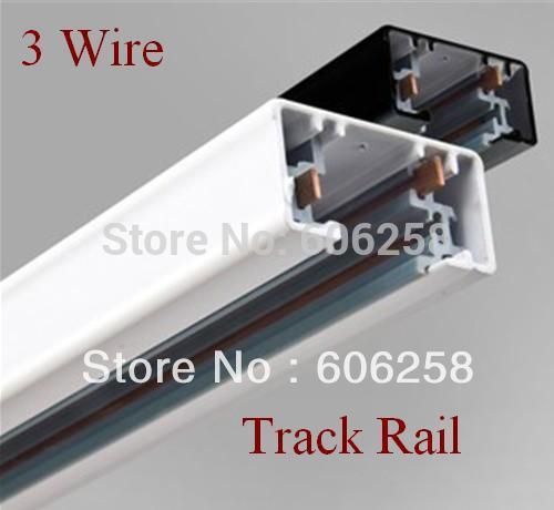 3 Wire Track 1M LED Spotlight Track Rail 20PCS<br><br>Aliexpress