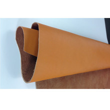 100% real split yellow leather/ Napa grain cow leather fabric / soft touch low loss/ many colors/ genuine cow leather/ 1.4mm