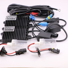 HAPPY FISH high quality AC 12V 100W Xenon HID Conversion Kit H1 H3 H7 H11 9005 9006 880 4300K 5000K 6000K 8000K 10000K 12000K(China)