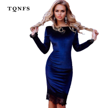 Buy TQNFS 2017 Fashion Lace Bodycon Dress Women Casual Long Sleeve Short Dress Evening Party Sexy Dress Vestidos De Fiesta Plus Size for $14.10 in AliExpress store