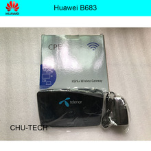Original Unlocked Huawei B683 update 21.6Mbps 3G wireless router HSPA WIFI Gateway support WCDMA 900/2100MHZ