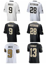 Men's Drew Brees Adrian Peterson shirts jerseys(China)
