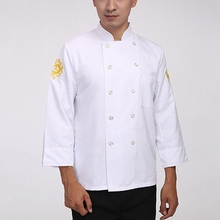 Hot Sale Unisex Chef Jackets Chinese Style Food Service Restaurant Chef Uniform Hotel Kitchen Cook Clothes