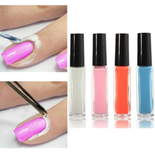 Nail Art Peel Off Base Coat Liquid Cream Latex Tape Polish Palisade Finger Skin Care Protected Separating Manicure Pedicure Tool