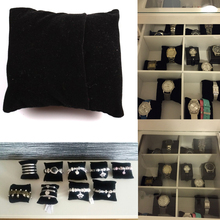 9pcs/lot Fashion New Lovely Bracelet Sponge Bangle Watch Pillow Cushion For Jewelry Display Holder 80*75*47mm 132011
