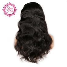 Brazilian Virgin Hair Wigs Full Lace Human Hair Wigs For Black Women Body Wave Hair Full Lace Front Wigs Indian Virgin Hair