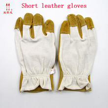 High quality Pig skin Leather Driver Glove Safety Glove Leather Welding Glove Work Glove