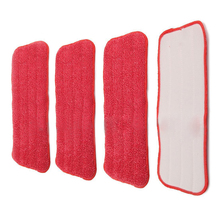Replacement fiber Pads Spray Water Spraying Flat Dust Mop Floor Cleaner(China)