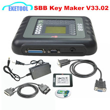 High Performance SBB V33.02 Key Maker Universal Key Programming OBDII 16PIN SBB V33 Transponder Immobilizer Supports Multi-Cars