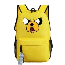 New Adventure Time cosplay Backpack Anime bags Student oxford Schoolbags AS Gift