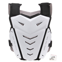 POSSBAY Motorcycle Armors Jacket Protective Professional Armor White Motocross Off Road Armor Racing Jacket Gear For Scoyco(China)