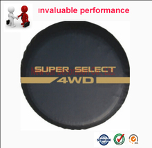 Universal Spare Tire Cover Car Spare Wheel Cover 14'' 15'' 16'' 17'' PVC Leather Good Quality(China)