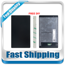 For New Lenovo Tab 3 Plus 8703X 16Gb TB-8703X Replacement LCD Display Touch Screen Assembly Black Free Shipping