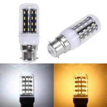 B22 12W 220V 36LED 4014 SMD Energy Saving Light Corn Lamp Bulb Pure/Warm White Chandelier Candle LED Lights For Home Decoration(China)