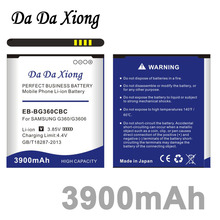 Da Da Xiong 3900mAh EB-BG360CBC Battery for Samsung Galaxy Core Prime  G360 G3608 G3606 G3609 Galaxy J2 Win 2 Duos TV SM-G360BT