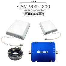 Full kit GSM 900 1800 Signal Repeater GSM 900mhz DCS 1800mhz Dual Band Signal Booster Mobile Amplifier GSM 900 1800 Booster Set