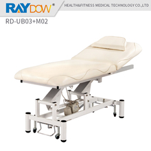RD-UB03+M02 Raydow PU Leather stainless steel adjustable electrical medical examination operation dental clinic hospital bed(China)