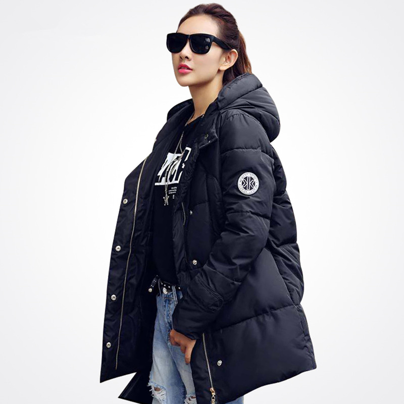 Casual Womens Winter Jacket Down Outerwear Female Hooded Fur Collar Coat Long Padded Parkas Womens Clothing Plus Size MZ1069gОдежда и ак�е��уары<br><br><br>Aliexpress