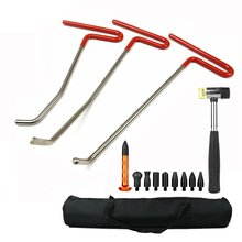 Buy Paintless Dent Repair Tool Set Removal Hail Dents Door Ding PDR Rods Tips Dent Puller Car Auto Body Dent Removal for $45.75 in AliExpress store