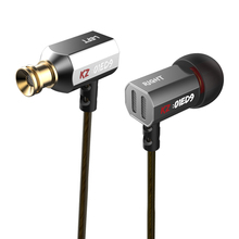 Original KZ ED9 Super Bowl Tuning Nozzles Monitoring Earphone Metal HiFi Stereo Earphones Transparent Sound Noise Isolating