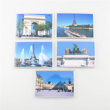 Free Shipping, Quality Acrylic Refrigerator Magnet, Price for A Set of 5 Pieces, Fridge Sticker, USA, UK, CHINA, GREECE