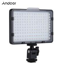 Andoer 160 LED Camera Camcorder Video Lighting Canon Nikon Sony Pentax Panasonic Olympus DSLR lighting accessories