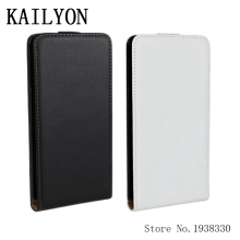 KAILYON Fashion Flip Phone Case For Huawei Ascend Mate7 Luxury Genuine Leather Vertical Case Cover For Huawei Ascend Mate 7 Hols(China)