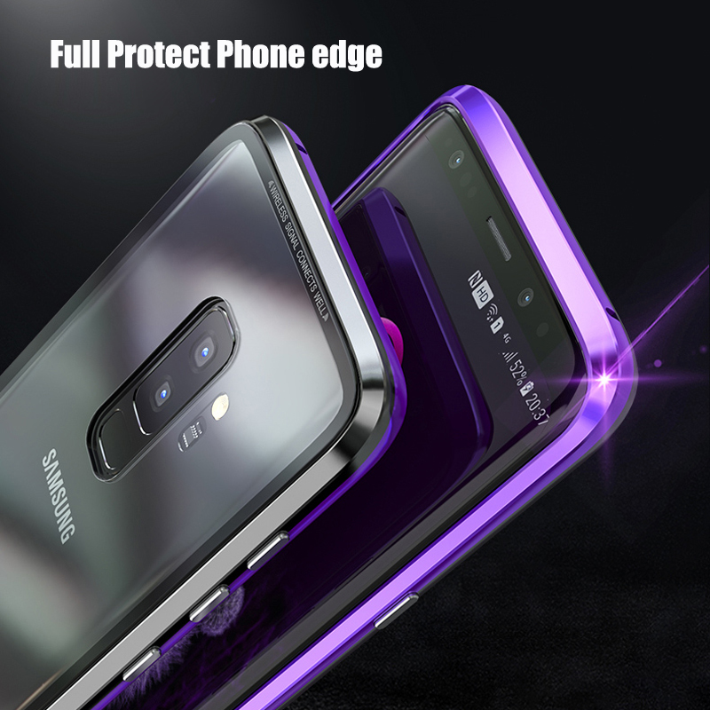 Magnetic-Metal-Case-sFor-Samsung-S-9-Case-Samsung-Galaxy-S9-S9Plus-Phone-Transparent-Glass
