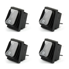 Areyourshop Car Rocker Switch 6Pin ON-Off-ON 16A 125VAC / 10A 250VAC RL2-202 Waterproof IP65 Boat 4(China)