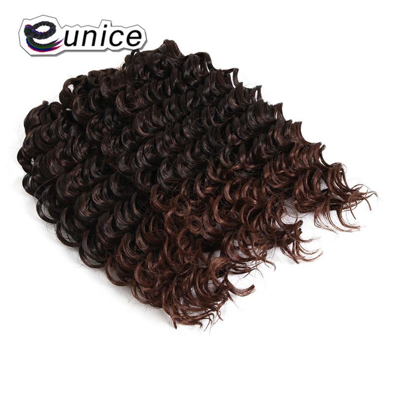 3 Bundleslot Fashion synthetic braiding hair 10inch Freetress Jerry Curl Crochet Braid  (21)