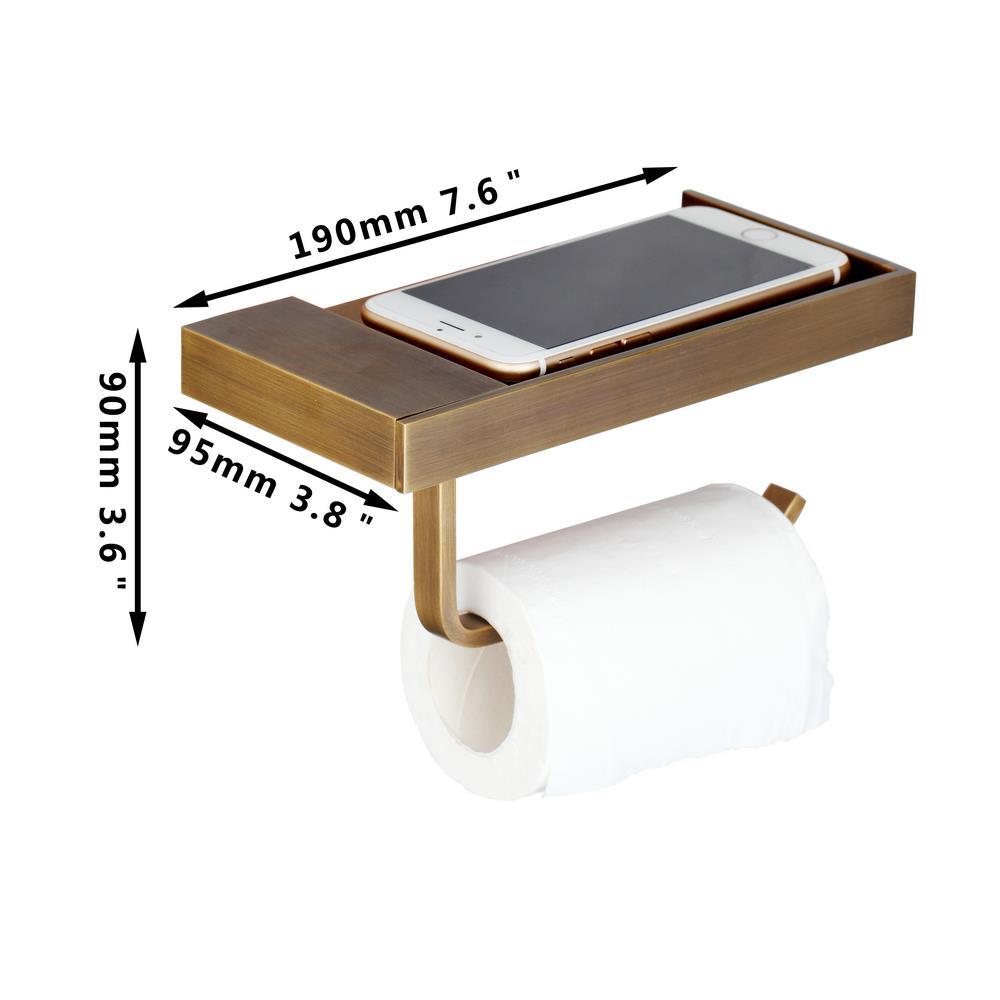 BEST Toilet Paper Holder Tissue Box Rack Stainless Steel Roll Hanger Wall Mounted Phone Stand Holder<br><br>Aliexpress