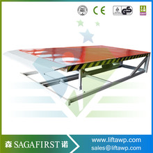 Adjustable Loading 10 ton Mobile Dock Ramp for Sale(China)
