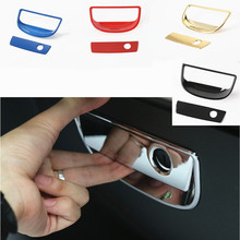 NEW & Hot 2PCS ABS Plastic Glove Box Handle Cover Interior Chromed Accessories for Jeep Wrangler 2008+
