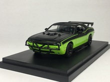 Green Light 1:43 Dodge Challenger Fast & Furio boutique alloy car toys for children kids toys Model Transparent box freeshipping