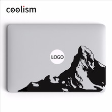 Alps Snow Mountain Vinyl Decal for MacBook Air Pro Retina Mac 11 12 13 15.6 inch Laptop Sticker Mac HP Mi Notebook Skin Sticker(China)