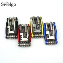 Buy Swelgo Bicycle Mini Repair Tools 11 1 Bicycle Moutain Road Bike Tool Cycling Multi Repair Tools Kit Wrench Bike Repair Tools for $8.00 in AliExpress store