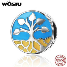 Buy WOSTU 100% Real 925 Sterling Silver Tree Life Beads Fit Original WST Charm Bracelet DIY Jewelry Accessories Gift CQC170 for $7.75 in AliExpress store