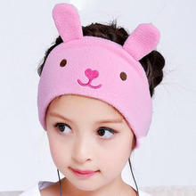 Kids Headphones cartoon earphone Super Comfortable Soft Fleece Headband - Perfect Children's Earphones for Home and Travel