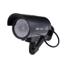 Waterproof Fake Dummy Camera Outdoor/Indoor Security Fake Surveillance Dummy CCTV CCD Camera Night CAM With Flash LED Light