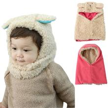 High quality discount cat Winter Warm Coif Hood Scarf Fit For 6 Months to 48 Months Baby Kids