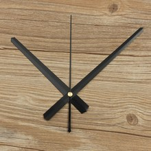 Hot Sale Home Hanging Wall Clock Accessories Hour Second Minute Hand Clock Pointer Simple Black White DIY Large Practical(China)